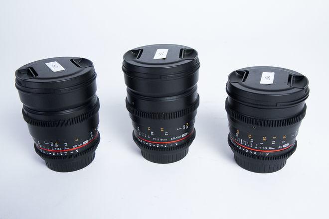 Rokinon Cine DS Lens Set (3 Lenses)