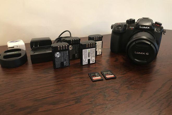 Panasonic GH5S Kit with Lumix 12-35 f2.8 lens