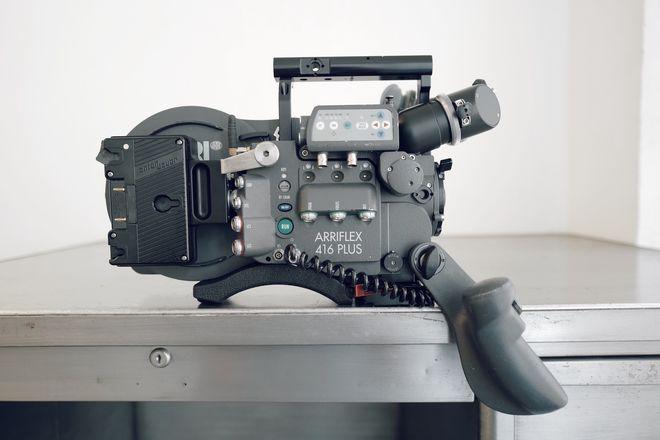 ARRIFLEX 416 Plus Super 16mm Film Cam w/ Custom Gold Mount