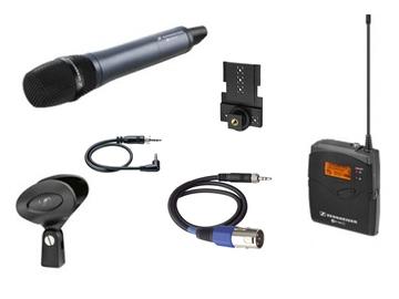 Rent: COMBO: Sennheiser ew 100 G3 Wireless Handheld Mic + Lavalier