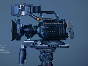 Rent: Blackmagic Ursa Mini 4.6k EF Kit with Lenses