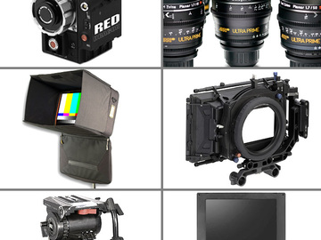 Rent: Red Epic Dragon Complete Cinema package with 5 Ultra Primes
