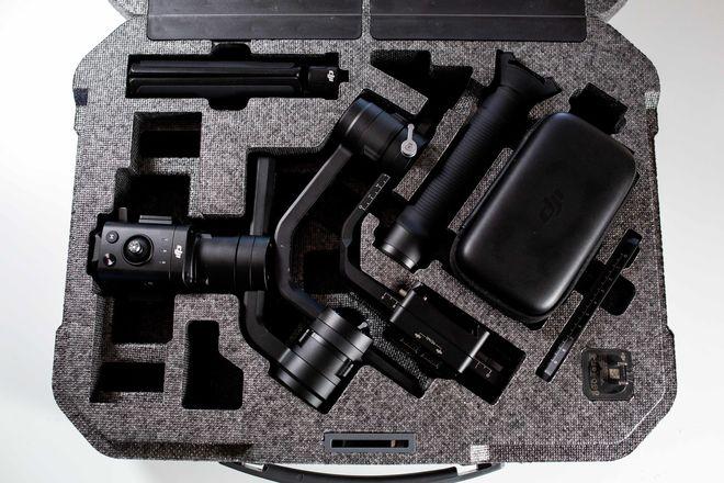 DJI Ronin S 3-Axis Handheld Gimbal Stabilizer