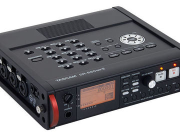 Rent: Tascam DR - 680 MKII 6 Track Field Recorder