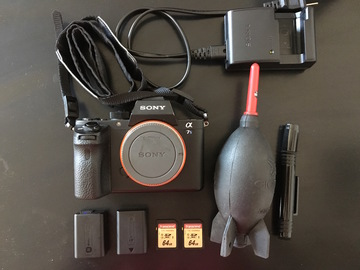 Rent: SONY A7S II (Camera Body + two batteries + two Cards)