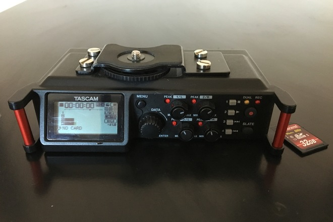 Tascam DR-70D Kit (with memory card)