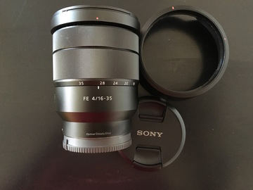 Rent: Sony 16-35mm Vario-Tessar T FE F4