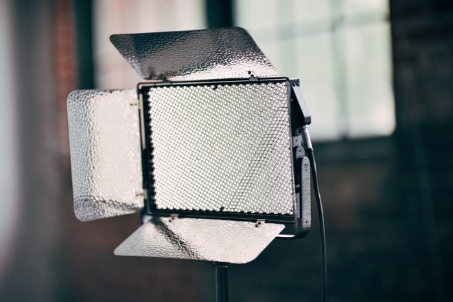Aputure Light Storm LS 1S LED Kit w/ Softbox, V-Mounts
