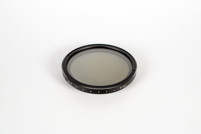 Tiffen 77mm Variable Neutral Density Filter w/ Step-Up Rings