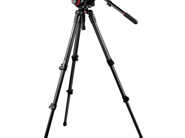 Rent: Manfrotto 504HD Head with 535 Tripod