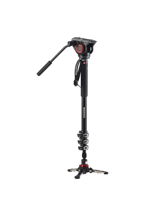 Manfrotto MVM500A Fluid Video Monopod with 500 Series Head