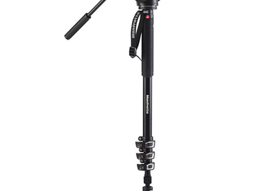 Rent: Manfrotto MVM500A Fluid Video Monopod with 500 Series Head