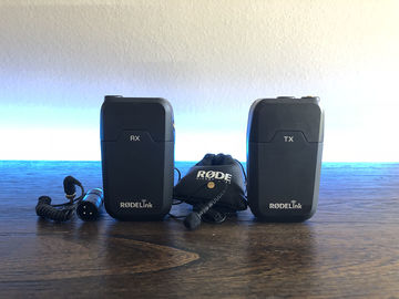 Rent: Rode RodeLink Wireless Filmmaker Kit (wireless lav)