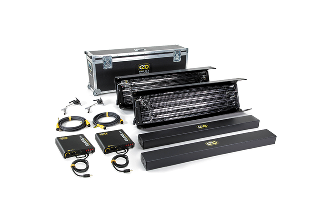 Kino Flo Gaffer DMX 4' 4Bank Two Light Kit