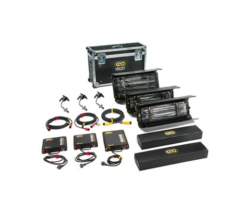 Kino Flo 2' 4Bank Three-Light Interview Kit