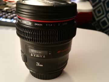 Rent: Canon EF 24 mm f/1.4L II USM Lens