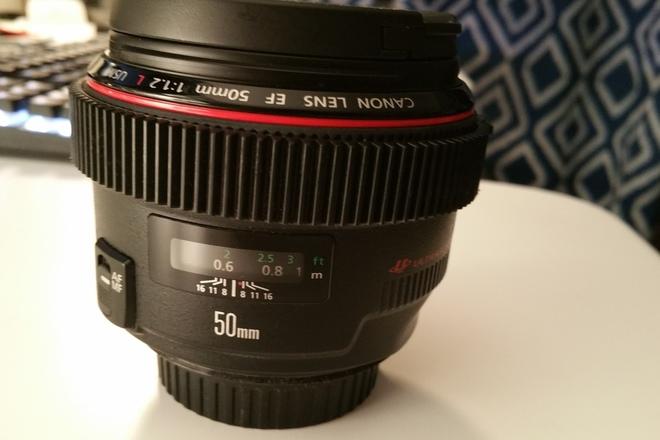 Canon EF 50 mm f/1.2L USM Lens Canon 50