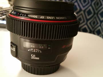 Rent: Canon EF 50 mm f/1.2L USM Lens Canon 50