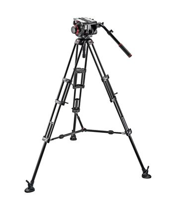Manfrotto 509HD and 545BK Pro Middle-Twin Kit 100 Tripod