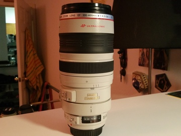 Rent: Canon EF 100-400 mm f/4.5-5.6L IS USM Lens