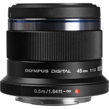 Olympus Lens Kit - M. Zuiko 45mm f1.8 & 25mm f1.8 w/filters
