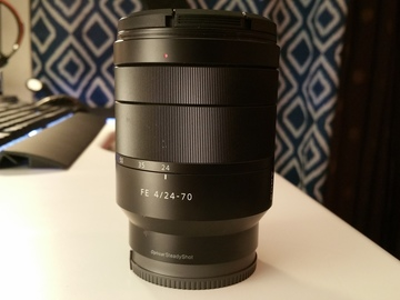 Rent: Sony Vario-Tessar T* FE 24-70 mm f/4 ZA OSS Lens