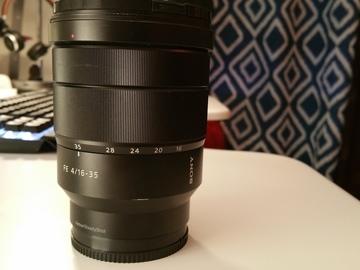 Rent: Sony Vario-Tessar T* FE 16-35 mm f/4 ZA OSS Lens