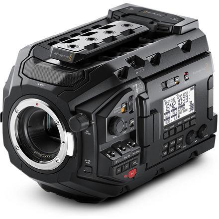 Blackmagic URSA Mini Pro kit w BRAW, CFAST media, tripod