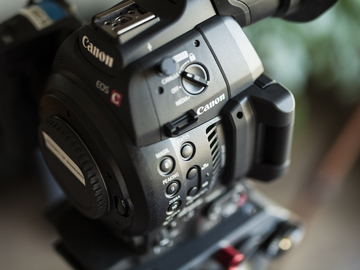 Rent: (2) Canon C100 MKII EF Mount Camera Package w/ Lenses