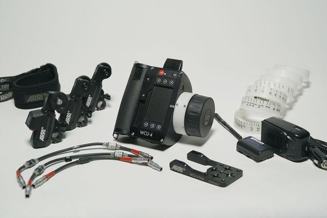 ARRI WCU-4 (3) C-Force Motors Wireless Follow Focus System