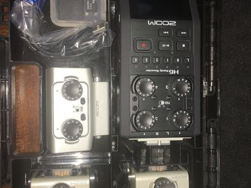 Zoom H6 Recorder with Interchangeable Microphones