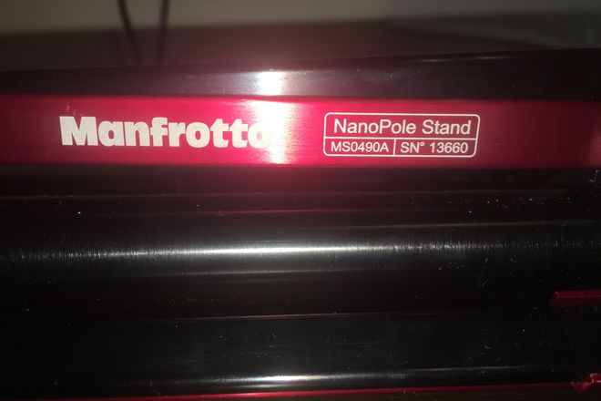 Manfrotto MS0490A NanoPole Compact Stand