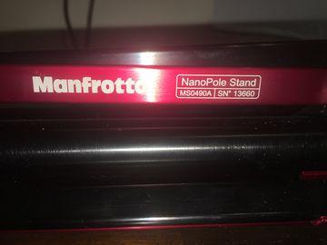 Manfrotto MS0490A NanoPole Compact Stand