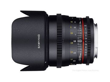 Samyang Cine DS 50mm T1.5