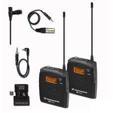 Sennheiser ew100 G3 Lavailer Wireless Microphone System