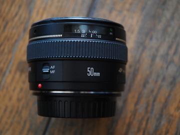 Rent: Canon EF 50mm f/1.4 USM Standard