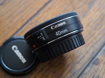 Rent: Canon EF 40mm f/2.8 STM Lens