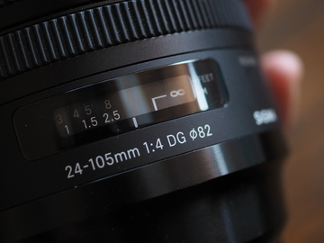 Sigma 24-105mm F 4.0 DG OS HSM Zoom Lens for Canon EF Camera