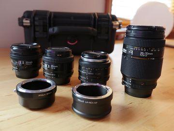 Nikon D-series 4-lens kit