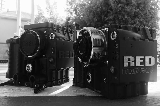 """RED Epic Dragon package with Mattebox, FF and 17"""" Panasonic"""