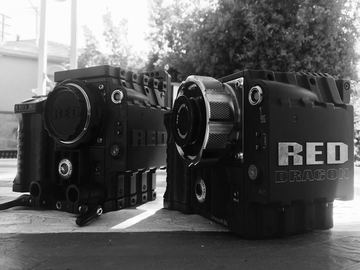 "Rent: RED Epic Dragon package with Mattebox, FF and 17"" Panasonic"