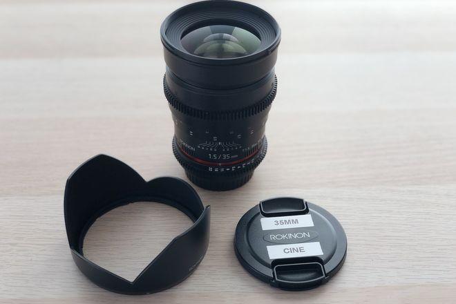 Rokinon Cine 35mm T1.5 (Canon EF Mount)