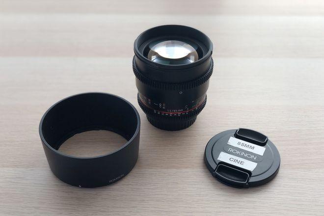 Rokinon Cine 85mm T1.5 Canon EF Mount