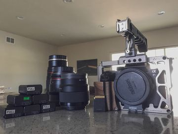 Sony A7S II Package with lens set.