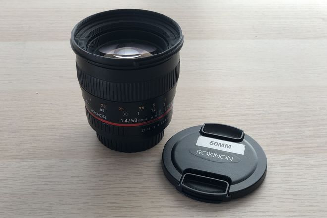 Rokinon 50mm f1.4 (Canon EF Mount)