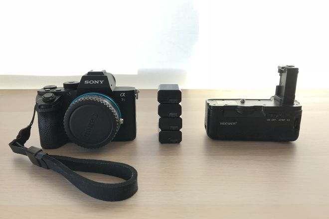 Sony a7s ii Kit with Vizelex ND Throttle EF Mount