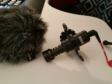 Rent: Rode VideoMicro with Dead cat