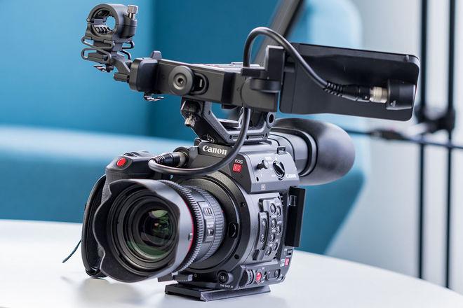 Canon EOS C200 + Canon 24-100mm Lens
