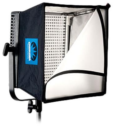 Litepanel 1x1 BiColor, batteries, softbox, AC power