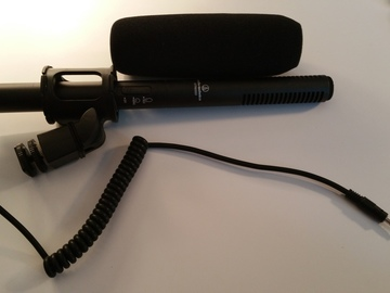 Rent: Audio Technica ATR 6550 with shock mount and windscreen